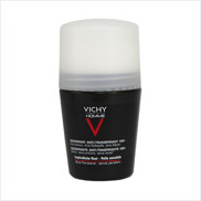 Vichy Homme 48hr Anti-Perspirant Deodorant Roll-On Sensitive Skin